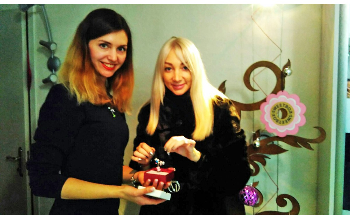 """Photos from the presentation of the winter collection """"Enchanted Forest"""""""