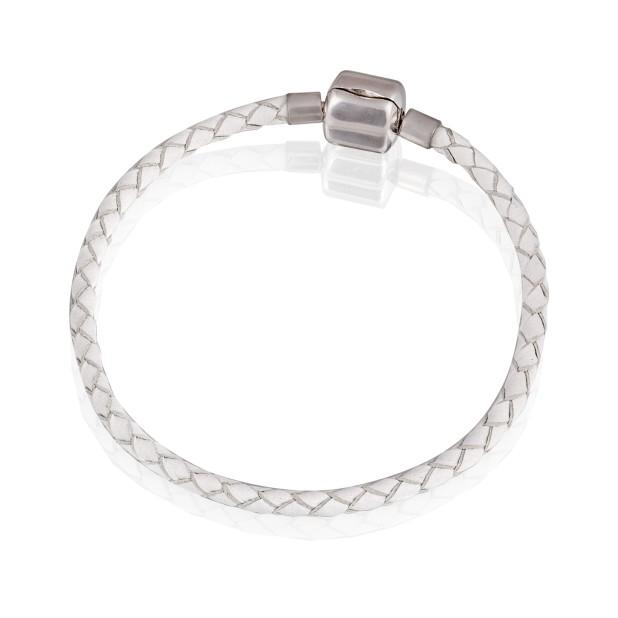 Bracelet (leeather, steel, 17cm, 18cm, 19cm, 20cm)