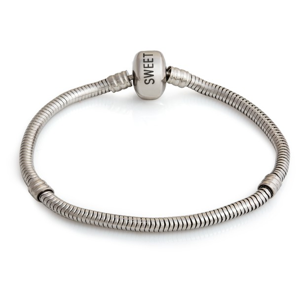 Bracelet (steel, 19cm)