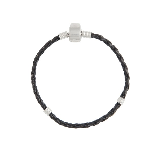 Bracelet (leather base, 17cm)