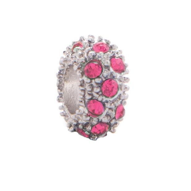 Бусина Хрустальная россыпь (розовый)