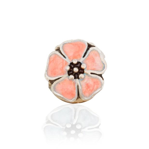 Бусина Прованс персиковый