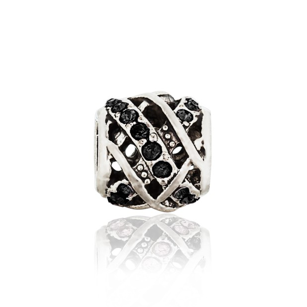 Bead Melange (black)