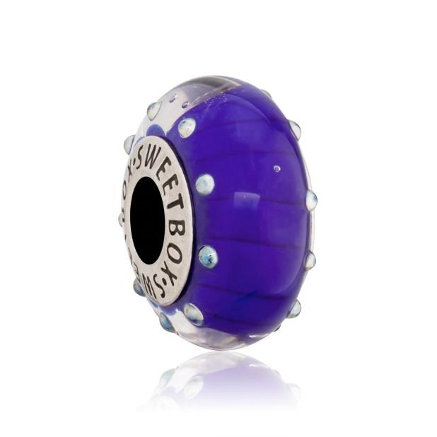 Бусина Фантом Фиолетовый