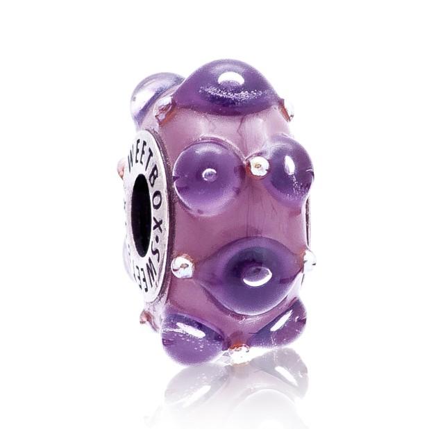 Бусина Магия цвета (фиолетовый)