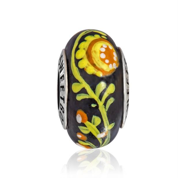 Бусина Украинский сувенир  в серебре