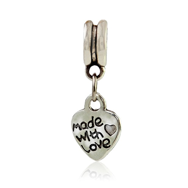 """Heart """"Made with love"""""""