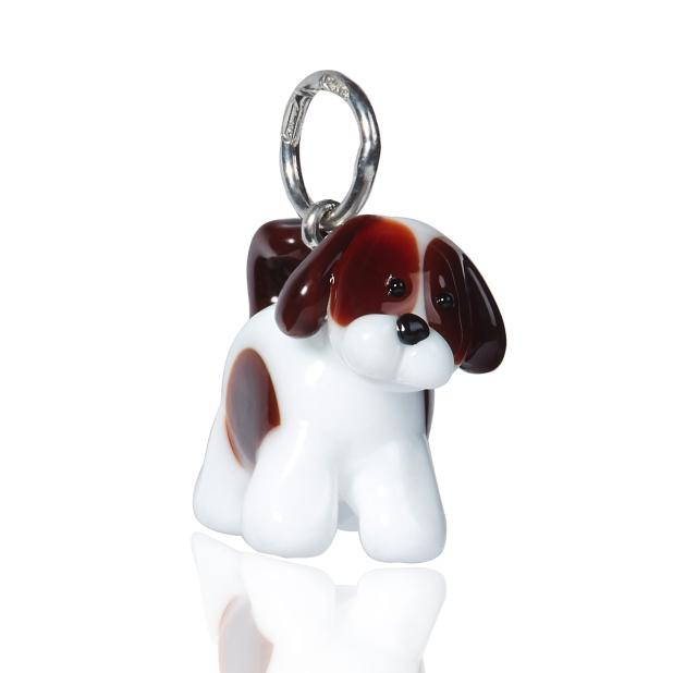 Pendant Lakki's Dog in silver